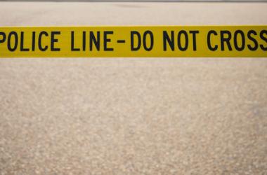 police line do not cross around fife